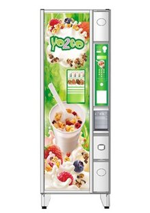 Ducale Yo2go yogurt vending machine