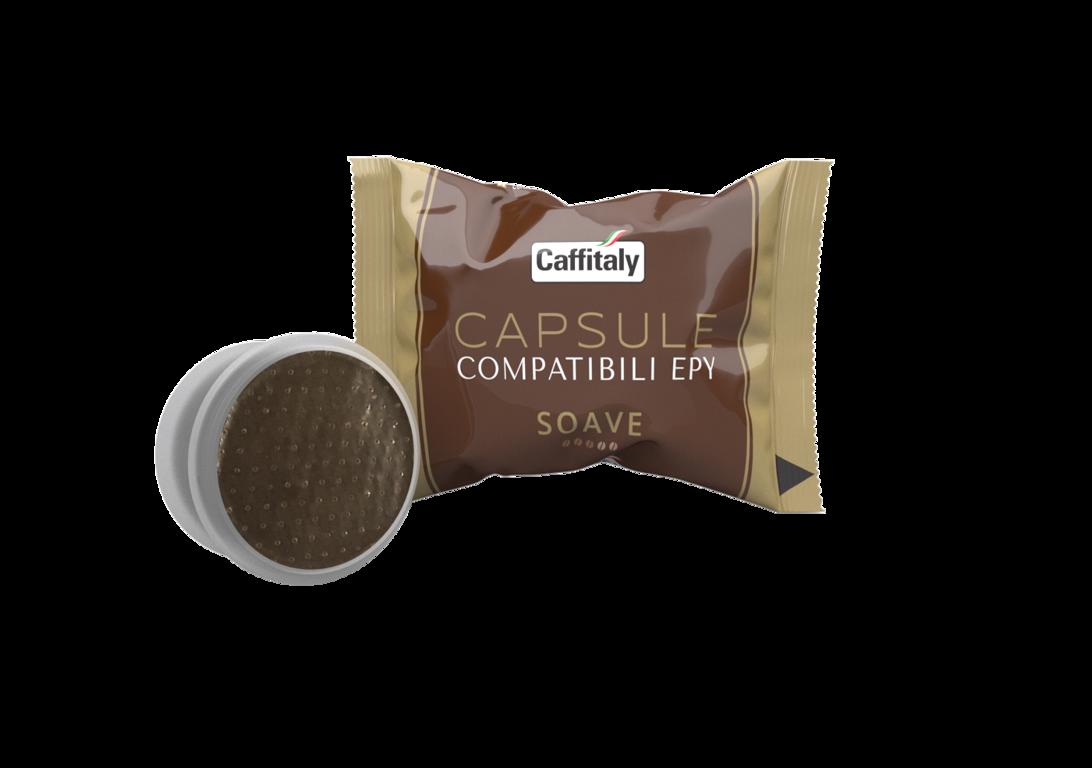SOAVE CAPSULE COMPATIBILI EPY (1 капсула), совместима с кофемашинами системы LAVAZZA ESPRESSO POINT