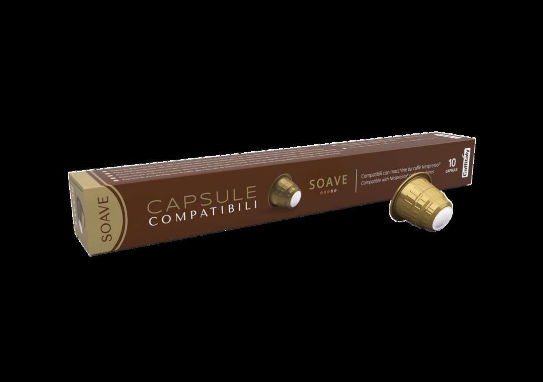 "Lacapsula ""Soave"" capsules for Nespresso coffee machines (price per 1 capsule)"