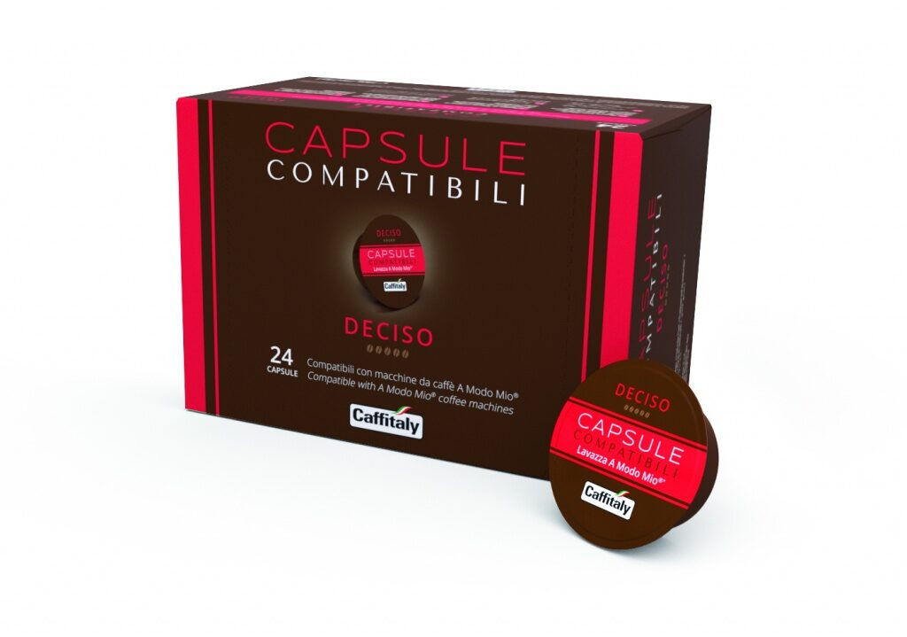 "Lacapsula ""Deciso"",  1 capsule,   compatible  with Lavazza A Modo Mio coffee machines"