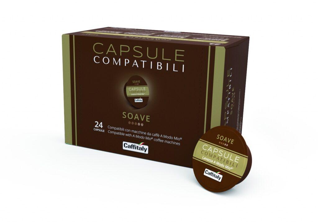 """Lacapsula """"Soave"""",  1 kapsula, saderīga ar  Lavazza A Modo Mio kafijas automātiem"""