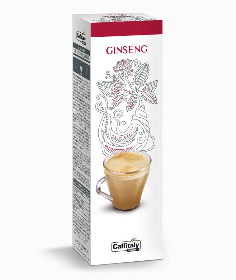 GINSENG  CAFFÈ E GINSENG –  ŽEŅŠEŅS   KAFIJA UN  ŽEŅŠEŅS   - 1 kapsula