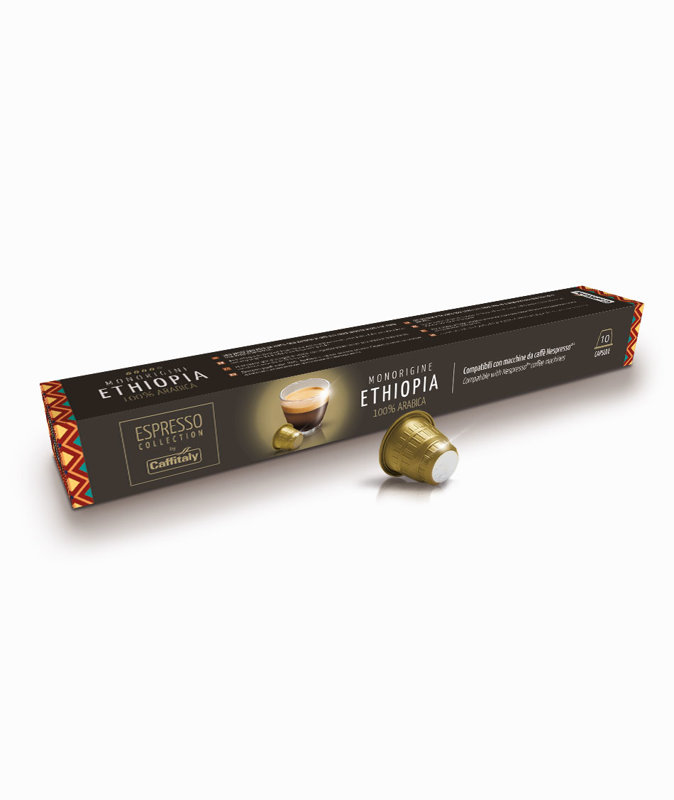 MONORIGINE ETHIOPIA  capsules for Nespresso coffee machines (price per 1 capsule)