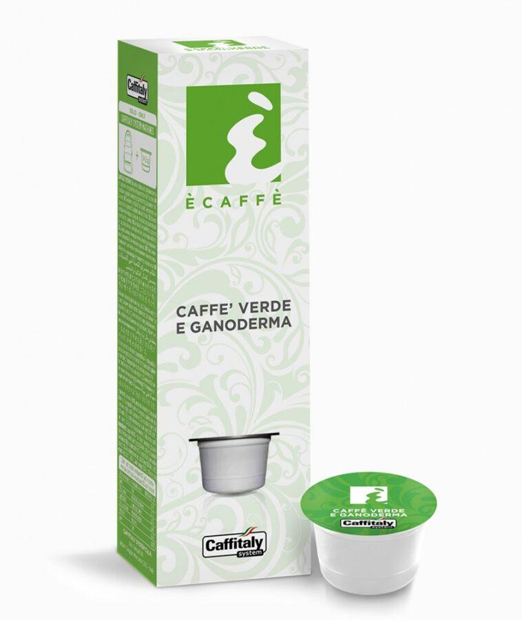 CAFFE VERDE E GANODERMA  (зеленый чай и ганодерма) - 1 капсула