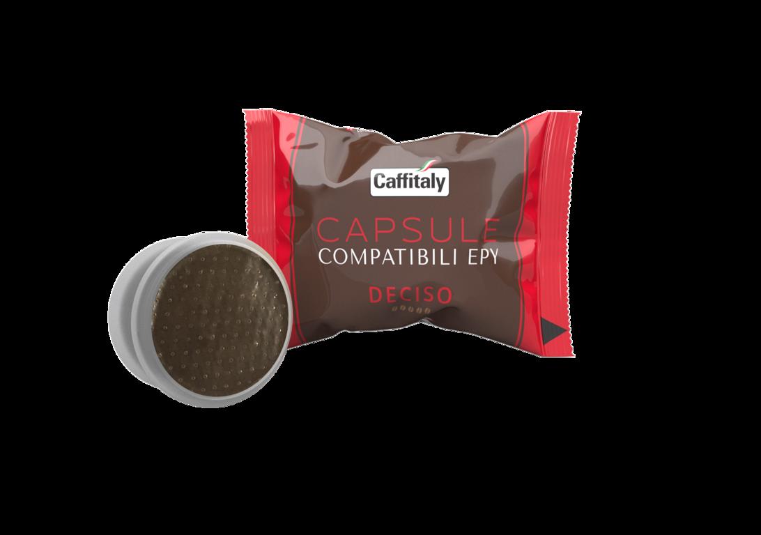 DECISIO CAPSULE COMPATIBILI EPY  (1 kapsula), Lavazza Espresso Point kafijas kapsulu aparātiem