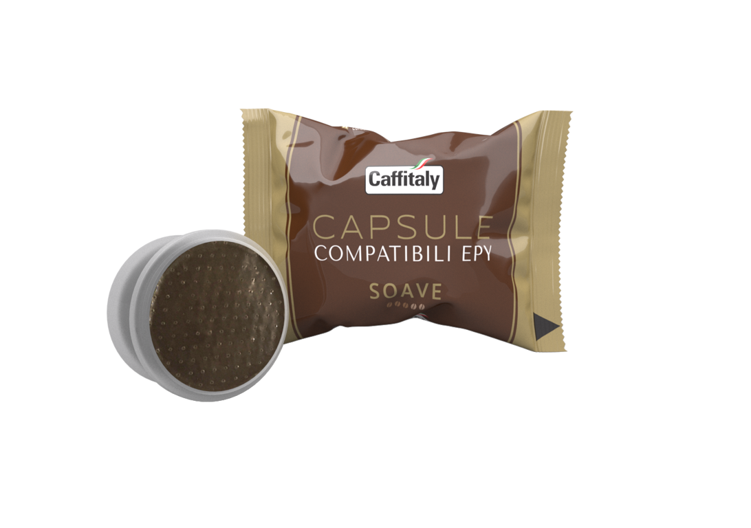 SOAVE CAPSULE COMPATIBILI EPY (1 капсула), совместима с кофемашинами системы LAVAZZA ESPRESSO POINT
