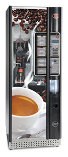 Ducale Super City coffee vending machine
