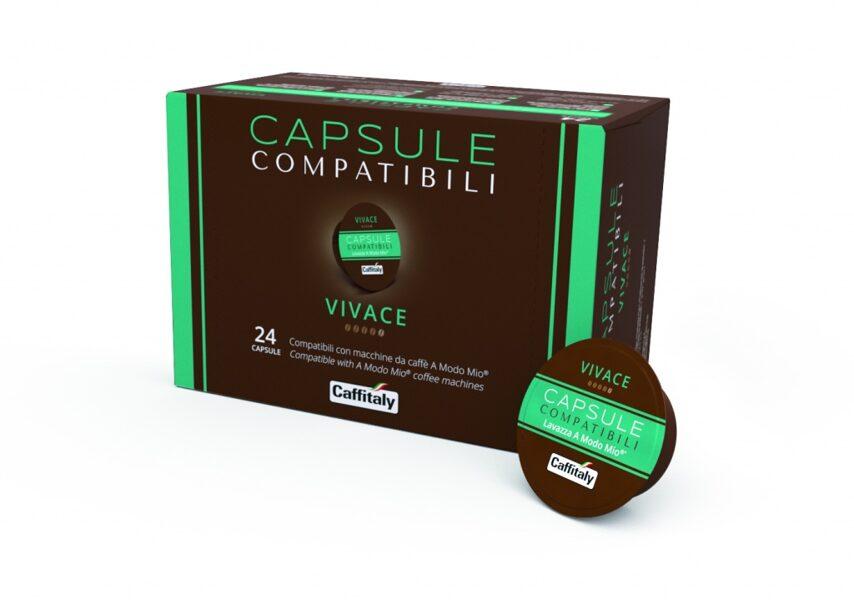 """Lacapsula """"Vivace"""",  1  capsule, compatible with Lavazza A Modo Mio coffee machines"""
