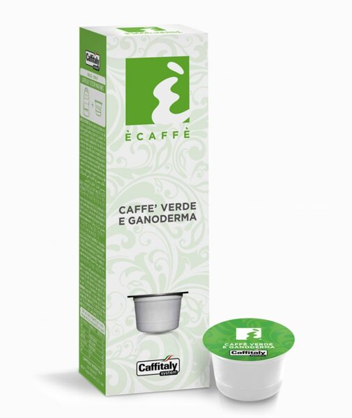 CAFFE VERDE E GANODERMA  (zaļā kafija un ganoderma) - 1 kapsula